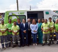 Kubar presentó el SAME Provincia en General Rodríguez