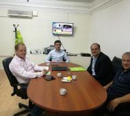 Olivera firmó el convenio con SAME Provincia.