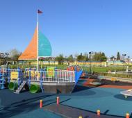 Es el parque más grande de San Fernando