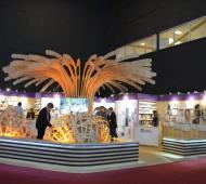 El stand puntano fue premiado en la Feria internacional del Libro.