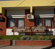 El hecho ocurrió en la delegación municipal.