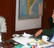 De Vido informó el resultado del estudio a Maggiotti. Foto: Navarro Noticias