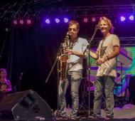 Petrecca y Arana, tocaron juntos en Junín.