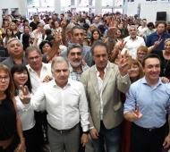 Scioli, Watson y Pereyra, juntos en Florencio Varela.