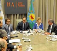 El Gobernador de la Provincia mantuvo una reunión de trabajo con los jefes comunales de la UCR.