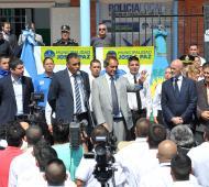 En José C. Paz dio inicio al ciclo lectivo de la Policía Local.