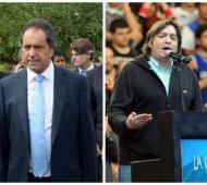 Scioli se refirió a los dichos de Máximo Kirchner.