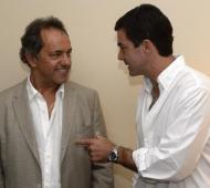 Scioli apoyó a Urtubey en Salta.