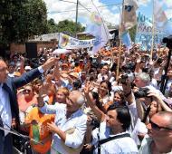 El Gobernador en Corrientes.