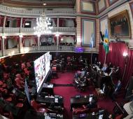 El Senado aprobó la prórroga de la suspensión de determinados desalojos