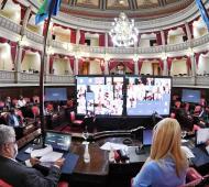 Senado ratificó sus autoridades de cara a la Apertura de sesiones ordinarias