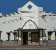 Casa Serrano, la sala velatoria de 25 de Mayo