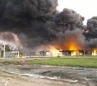 El incendio ocurrió el 27 de septiembre pero se desconocen las consecuencias
