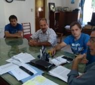 El intendente se había reunido con la Cámara Cámara Industrial y de Servicios. Foto: Prensa