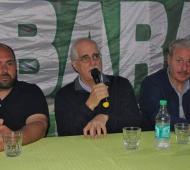 Taiana estuvo en Baradero y Pergamino, invitado por Smata.