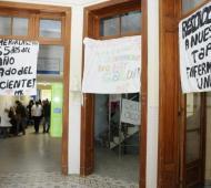 Paro de enfermeros por 48 horas en hospitales. Foto: Tandil Provincia