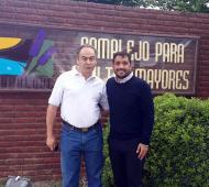 Los jefes comunales reunidos en Tapalqué.