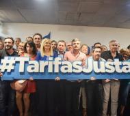 Intendentes peronistas firmaron amparo contra el aumento de la tarifa de luz