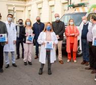 Test de diagnóstico rápido Neokit-Covid19 y ELACHEMSTRIP empezaron a distribuirse en hospitales de Provincia