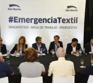 Katopodis convocó una Mesa de Emergencia Textil en San Martín
