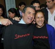 Urribarri sigue con las críticas a los candidatos opositores.