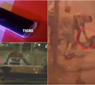Video: Roban celular a hombre incosciente en Tigre