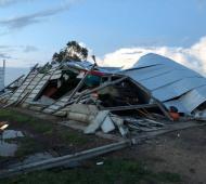 Unas 250 casas se vieron afectadas