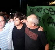 Federico Labarthe, junto aCristian Raising y Omar Navas. (Foto: noticiastornquist.com.ar)