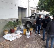 Tornquist: Allanaron el Inta, secuestraron plantas de marihuana y detuvieron a dos concejales