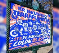 """Insólito encuentro de """"terraplanismo"""" en Colón para los que creen que la Tierra es plana"""