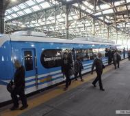 Servicio de trenes interrumpido por amenaza de bomba. Foto: Télam