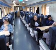 El tren hará el recorrido en 2 horas. Foto: Ministerio de Transporte