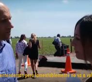 Video: Funcionaria le admite al intendente de Alberti que el tren no va a volver a su pueblo