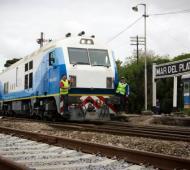 Volvió a funcionar el tren a Mar del Plata.