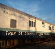 El Tren de desarrollo social y Sanitario arriba este lunes a Chascomús.