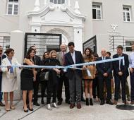 Urtubey y Valdes inauguraron el espacio dedicado a la mujer. foto: Prensa