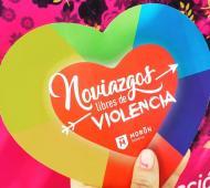 """""""Noviazgos sin violencia"""", la campaña para concientizar en Moróncontra la violencia de género"""