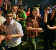 Tigre: Más de mil personas disfrutaron de un nuevo baile inclusivo al ritmo de cumbia y reggaetón