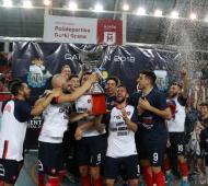 San Lorenzo se consagró campeón en Castelar.