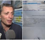El Intendente publicó los telegramas de despido.