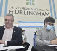El acuerdo fue rubricado por el subdirector ejecutivo del Instituto, Martín Rodríguez, y el rector de esa casa de estudios, Walter Wallach