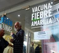 Vacunación por fiebre amarilla en la Provincia de Buenos Aires