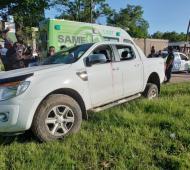 Mató a dos delincuentes en un intento de robo de su camioneta