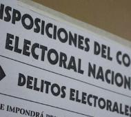 Este viernes a las 8.00 comenzó la veda electoral.