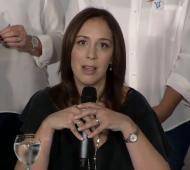 Vidal encabezó el anuncio desde La Plata.