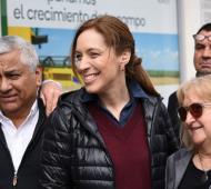 Vidal, tras las PASO, en San Pedro (La Noticia 1)