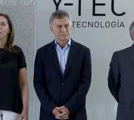 Vidal brindó su apoyo a Macri en la pelea con Moyano.