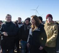 Coronel Rosales: Ya funciona el parque eólico Pampa Energía III