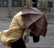 Se esperan tormentas fuertes, con ráfagas de viento y ocasional caída de granizo.
