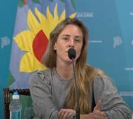 Agustina Vila. Directora General de Cultura y Educación.